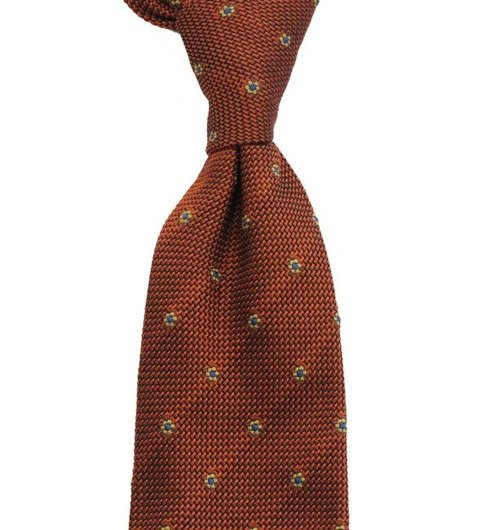 orange grenadine 3-fold tie