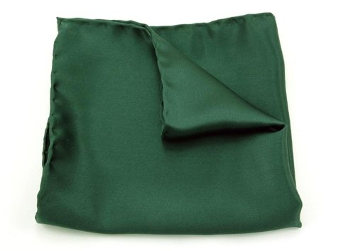 GREEN BOTTLE POCKET SQUARE