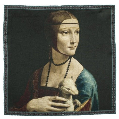 Artworks collection 'Lady with an Ermine' Da Vinci