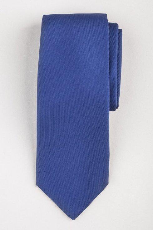 BLUE SIX FOLD MACCLESFIELD TIE
