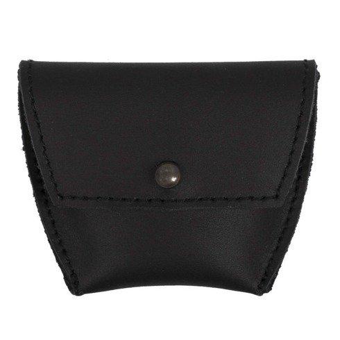 Coin wallet black matt