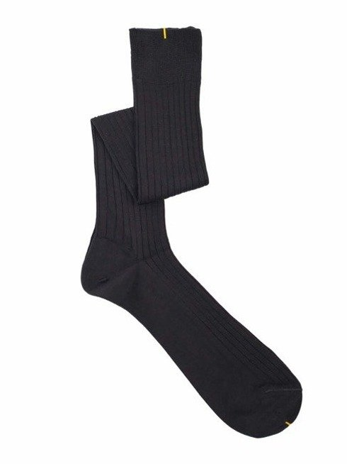 Over the calf socks graphite