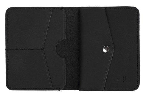 Pocket wallet matt with coin case