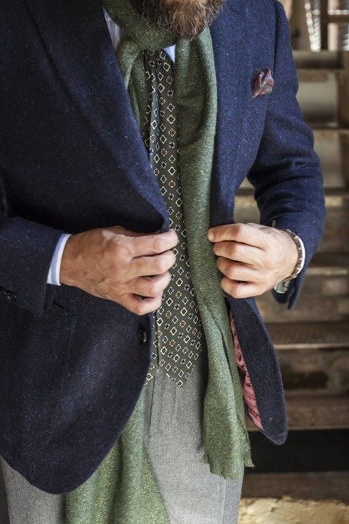 Preorder: Donegal tweed sports jacket  'Roger'