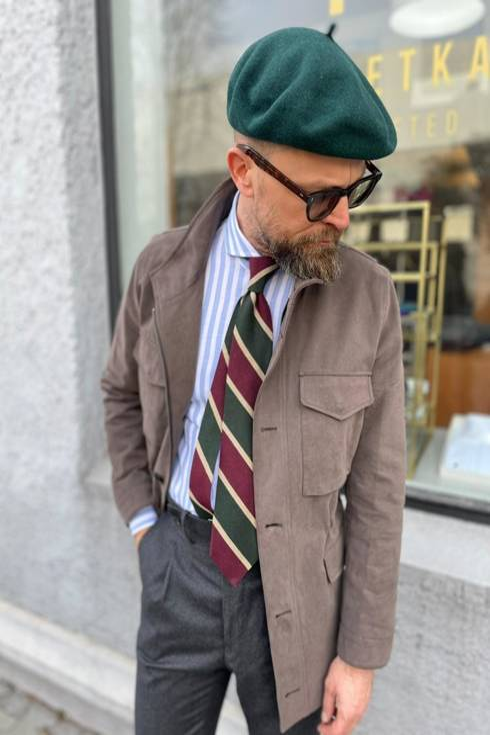 Preorder: Muted Brown Field jacket