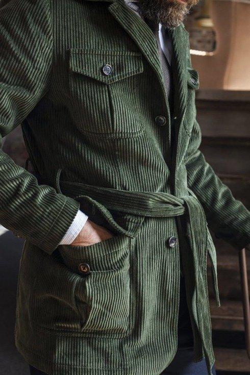 Preorder: Safari corduroy jacket 'Roger'