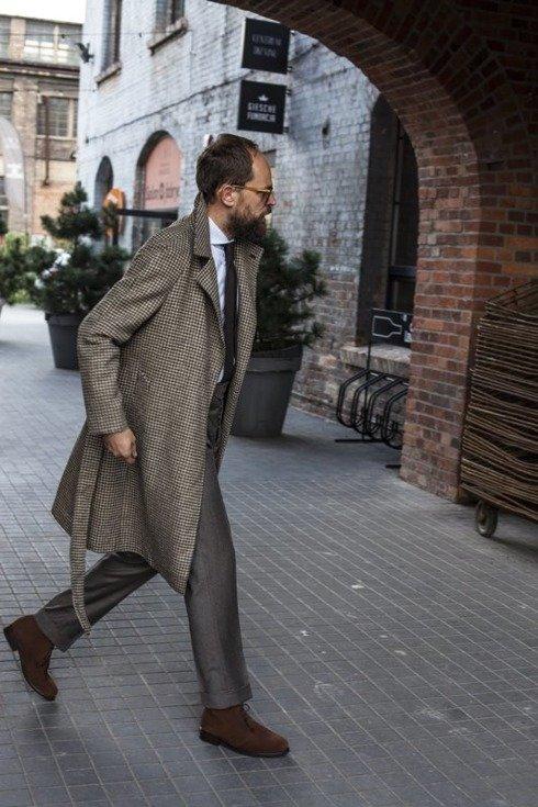 Preorder: raglan coat 'Rudolf'