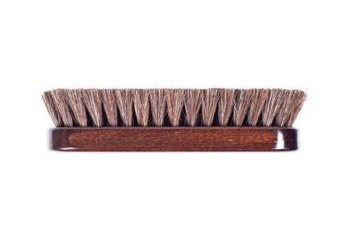 Shoe brush wenge color