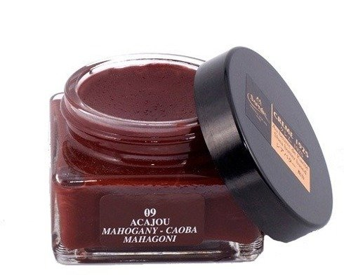 Shoe cream 75ml / mahogany