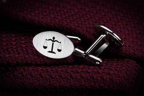Silver Cuff Links Temida