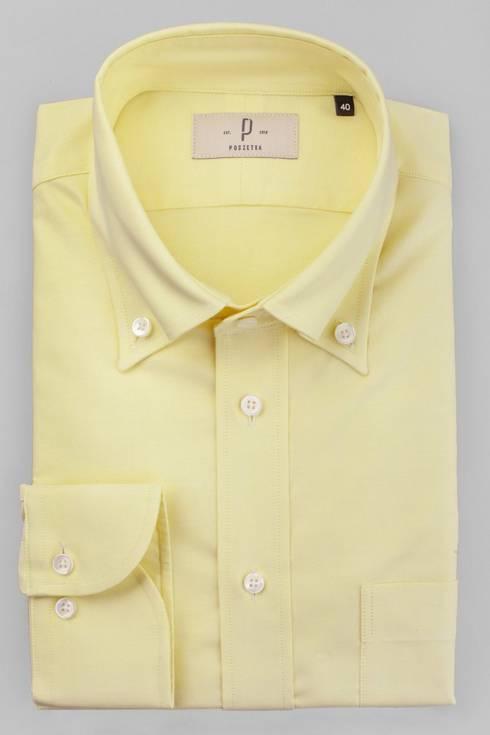 Yellow OCBD shirt