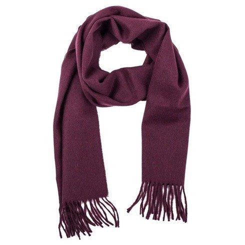 burgundy woolen classic scarf