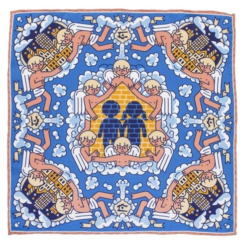 charity pocket square