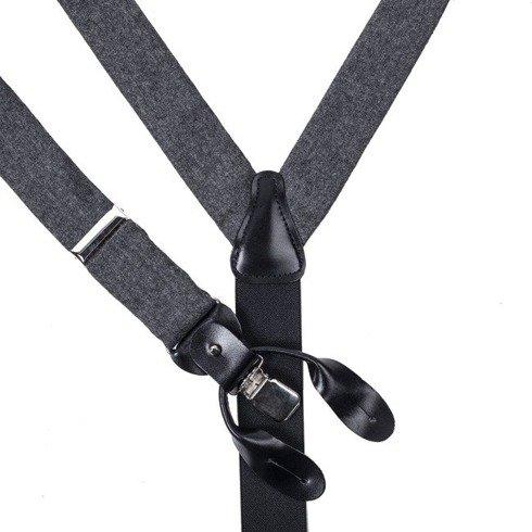 flannel BRACES 3,5 CM CLIPS & BUTTONS