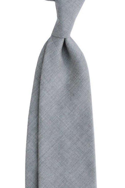grey UNTIPPED WOOLEN TIE