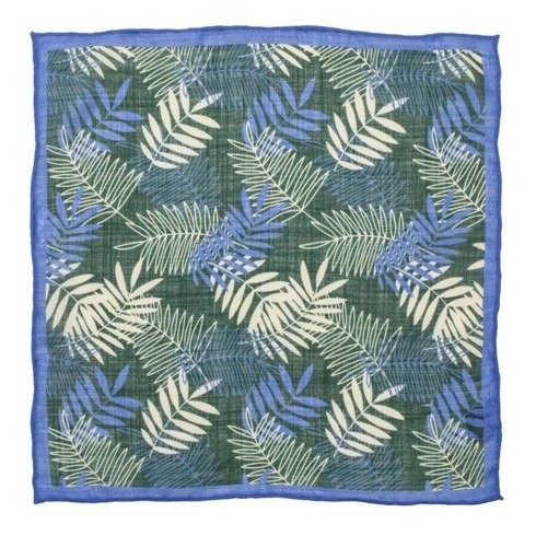 leaves pocket square