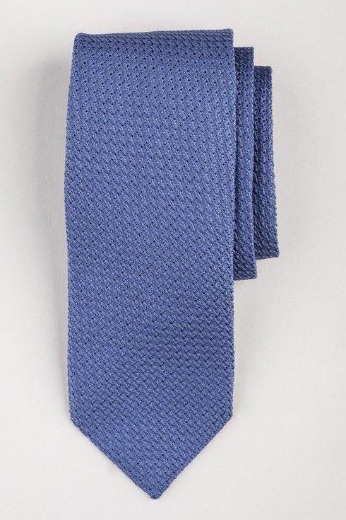 light blue grenadine tie (garza grossa)