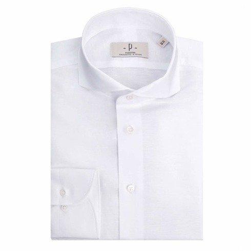 linen%cotton white shirt