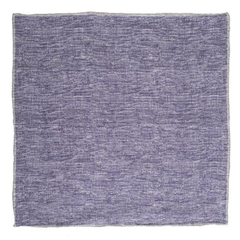 linen pocket square melange