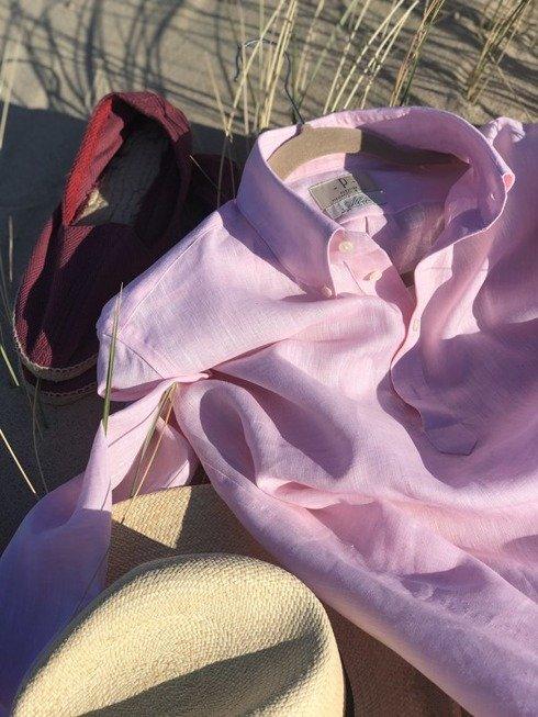 linen popover pink
