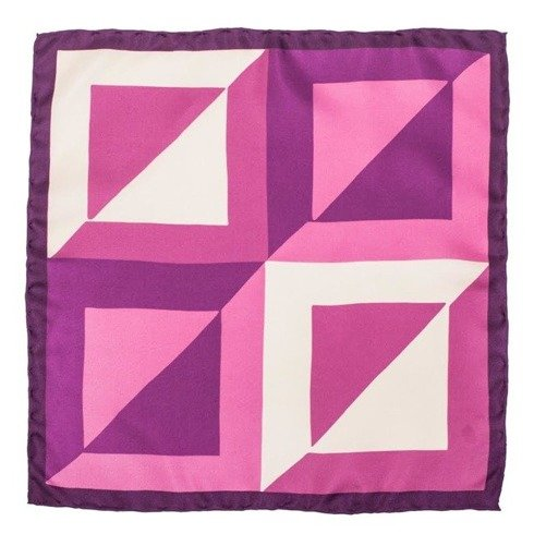 pocket square pink squares