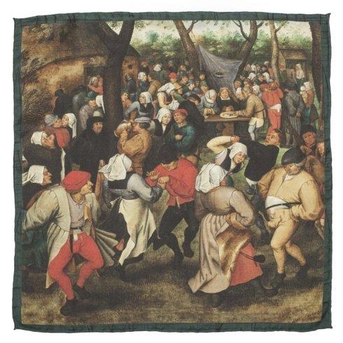 "ARTWORKS COLLECTION Pieter Bruegel the Elder ""The wedding dance"