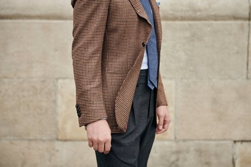Marlon jacket 100% merino wool