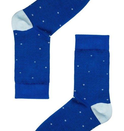 Pantherella egyptian cotton socks navy