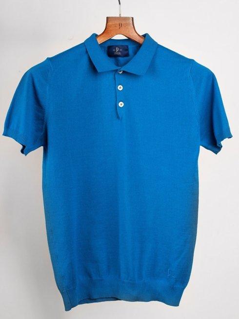 Polo Shirt - lazurite blue