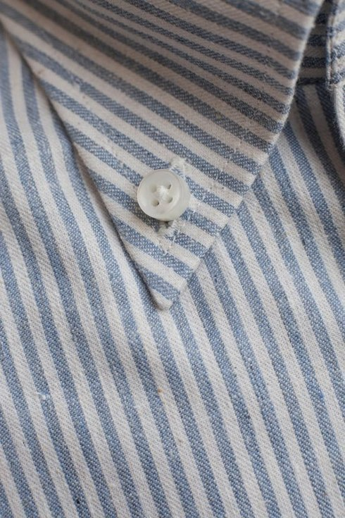 Recycled cotton button down Albini shirt