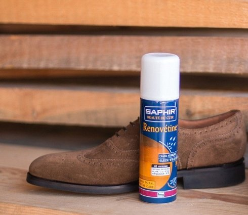 Renovetine renovating spray for suede and nubuck 200ml / fawn