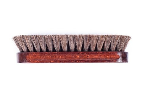 Shoe brush mahogany color