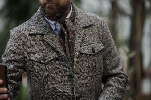 Tweed safari jacket 'James'