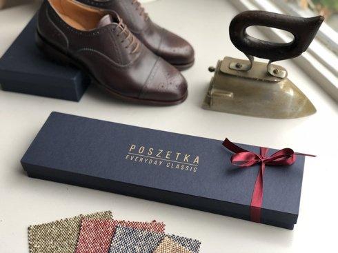 brown Macclesfield tie