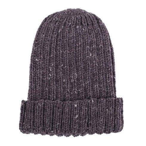 lum hand-knit graphite beanie