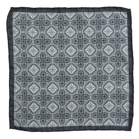 muslin wool pocket square