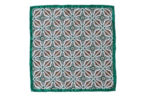 silk pocket square mandala
