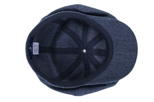spring-summer unlined flat cap Moon