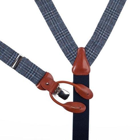 wool&cashmere BRACES 3,5 CM CLIPS & BUTTONS