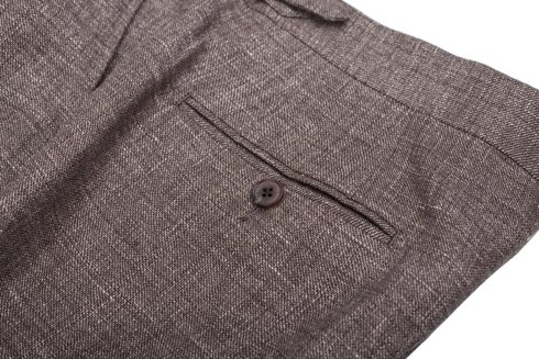 wool-linen trousers 'Garda'