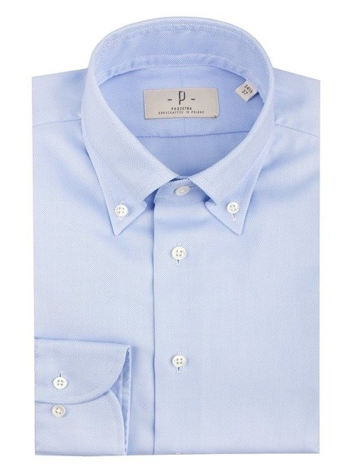 Błękitna koszula OCBD