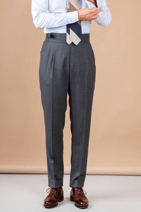 "Preorder: Spodnie ""Alfred"" gurkha szare"