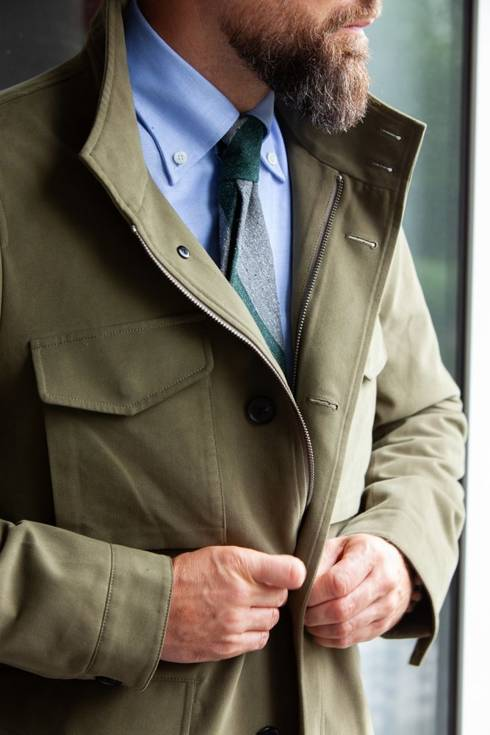 Preorder: oliwkowy field jacket