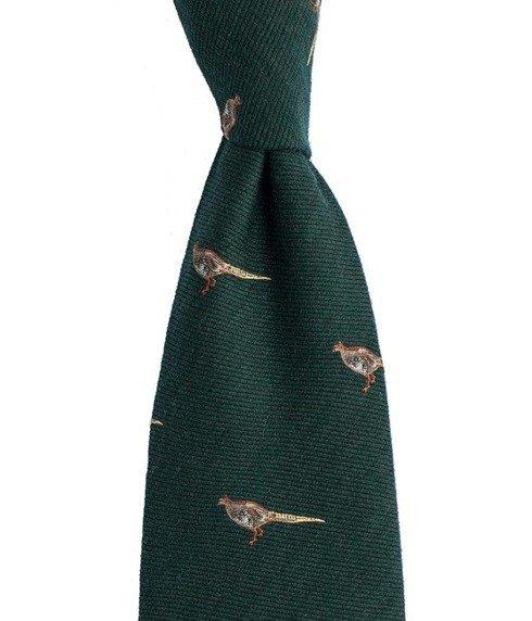 krawat w bażanty