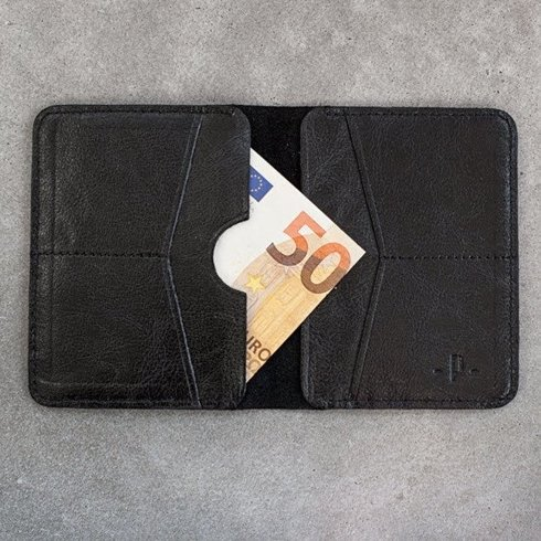Czarny portfel / Pocket wallet