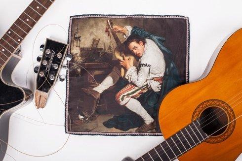 """Obrazy mistrzów """"Gitarzysta"""""""