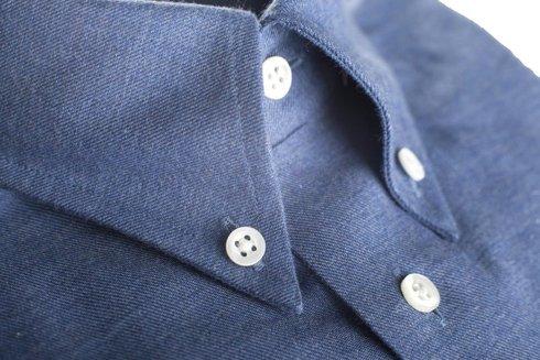 flanelowa koszula denim