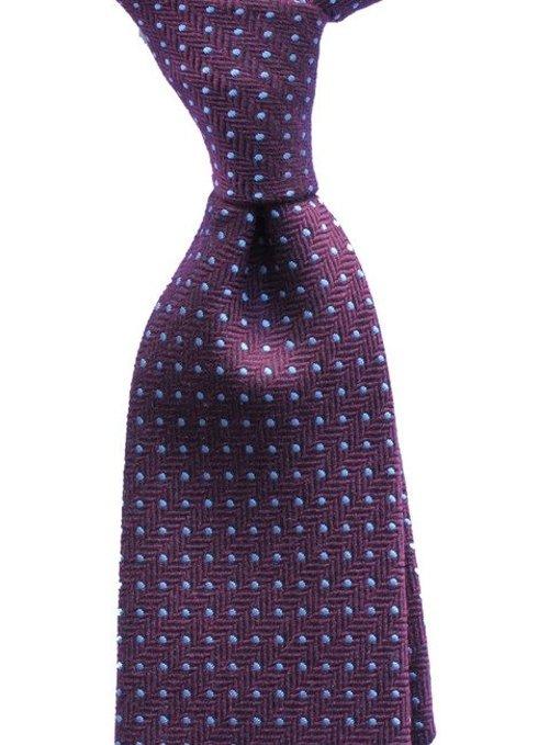 krawat jedwabno- wełniany
