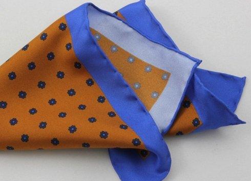 pomarańcz z niebieskim