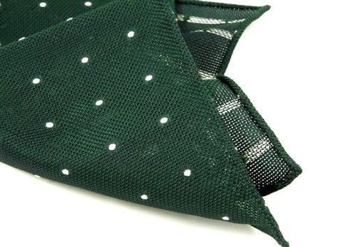 poszetka z grenadyny- zieleń